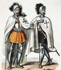 Teutonic Knights: Grand Master (left), knight (right)