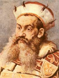 Henryk Brodaty (Henry the Bearded) by Jan Matejko