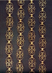 The Skrwilno Treasure - Filigree Chain, 1st half of the 17th c.